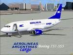FS2004                   Boeing 737-300Aerolineas Argentinas Freighter