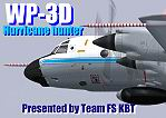 "FS2004                   Lockheed WP-3D ""Hurricane Hunter""."