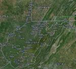 FSX West Virginia Airfield Locator