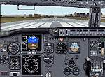 FS2000                   panel--Improved Boeing 737-400