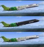Bombardier CRJ 700 - XBOX 360 Textures