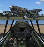 FS2004/FSX/P3D V3 Republic XP-47J Escort Experimental
