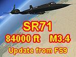 SR-71A Blackbird 61-7955 FS9 to FSX Update